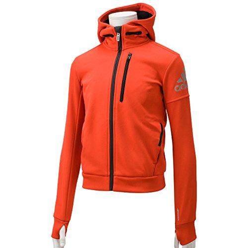 (アディダス)adidas KIDS CLIMAWARM ジャケット APK23 AB9496 ボールドオレンジ/ブラック J140