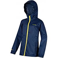 Regatta Great Outdoors Childrens/Kids Kids Pack It Jacket III Waterproof Packaway Black