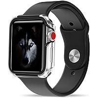Apple Watch 3/2 / 1 ケース (42mm) 【 米国 Zizo 】 米軍MIL規格 810.1-G 耐衝撃 アルミニウム メタル バンパー x TPU ハイブリッド (2層構造) スリム ケース 【 シルバー/ブラック 】