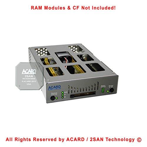 "Acard ans-9010ba 5.25""ダイナミックRamモジュールRamディスクSSD SATA x1(Not Included)"