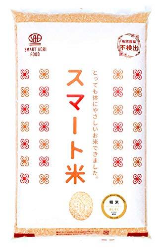 スマート玄米:佐賀県 夢しずく (無洗米玄米5kg):残留農薬ゼロ