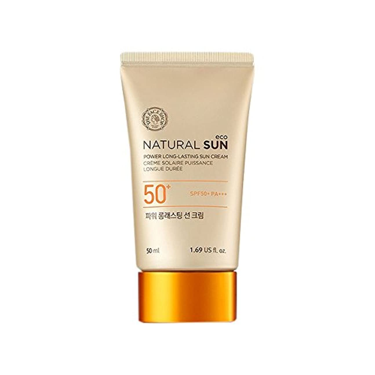 コードレス本物ムスタチオ[ザ?フェイスショップ] The Face Shop ナチュラルサン エコ パワー ロングラスティング サン クリーム SPF50+PA+++50ml The Face Shop Natural Sun Eco Power...