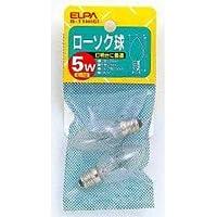 (まとめ買い) ELPA ローソク球透明 G-11H(C) 【×10】