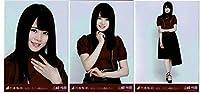 乃木坂46 女は一人じゃ眠れない 会場限定ランダム生写真 3種コンプ 山崎怜奈