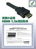 HDMIフラットケーブル3m WH056-3M