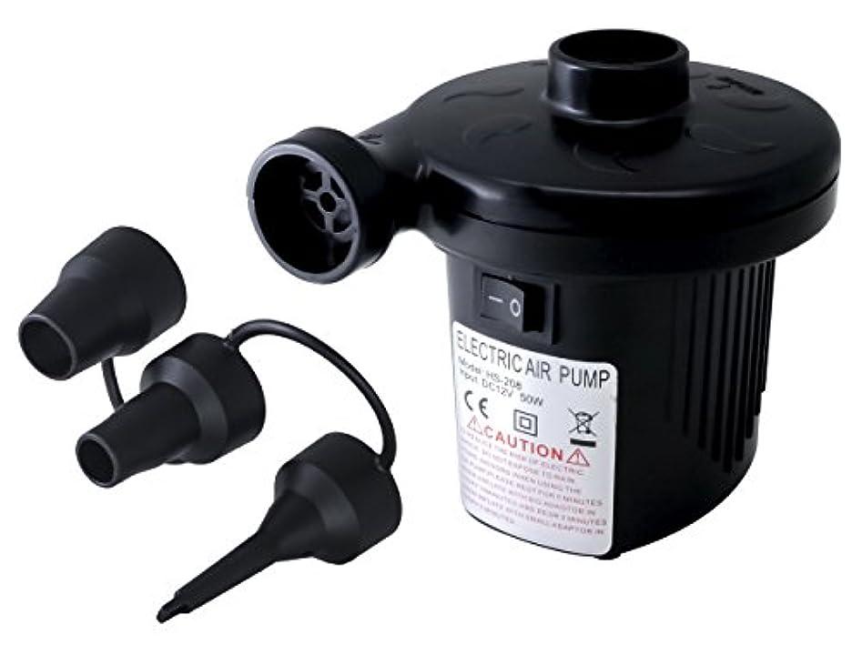 アヒルエクステント。SEIKOH 電動ポンプ 空気入れ 電動エアーポンプ AC電源 100V 家庭用 コンセント DC12V シガーソケット 吸気 排気 AT066A