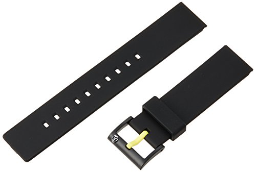 [해외]큐 앤 큐 스마일 태양] Q &  Q SmileSolar 시계 벨트 폴리 우레탄 20mm 블랙 59-PB0954J/[Queue and cue smile solar] Q &  Q SmileSolar watch belt polyurethane 20 mm black 59 - PB 0954 J