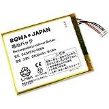 FUJITSU 富士通 ARROWS F-01 HM02 RM02 の CA54310-0064 1ICP4/63/78 互換 バッテリー ロワジャパンPSEマーク付