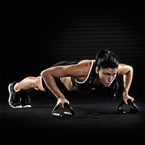 『adidas(アディダス)プッシュアップバー 腕立て伏せ 筋力トレーニング ADAC-12231 BLK』の1枚目の画像