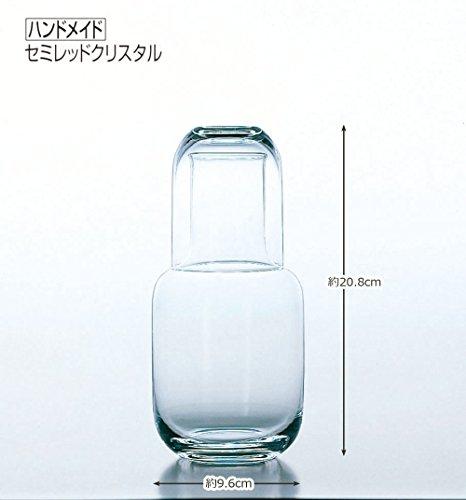 水瓶 冠水瓶 ガラス 冠コップ 760ml