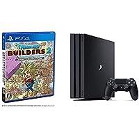 PlayStation 4 Pro ジェット・ブラック 1TB + ドラゴンクエストビルダーズ2 破壊神シドーとからっぽの島 セット