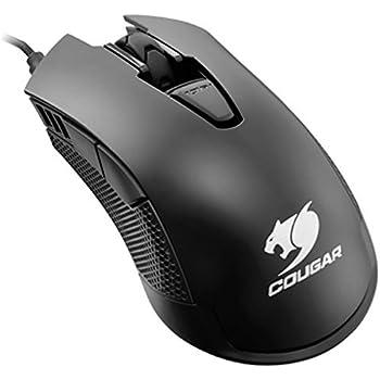 COUGAR ゲーミングマウス 500M 4000DPI LED対応 編み込みケーブル CGR-WOMB-500 【国内正規品】