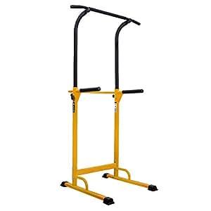 WASAI(ワサイ) ぶら下がり健康器 懸垂マシン 背筋運動 30W 筋肉伸ばし (イエロー)