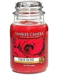 Yankee Candle Housewarmer Jar (True Rose) Large (22oz) by Yankee Candles [並行輸入品]