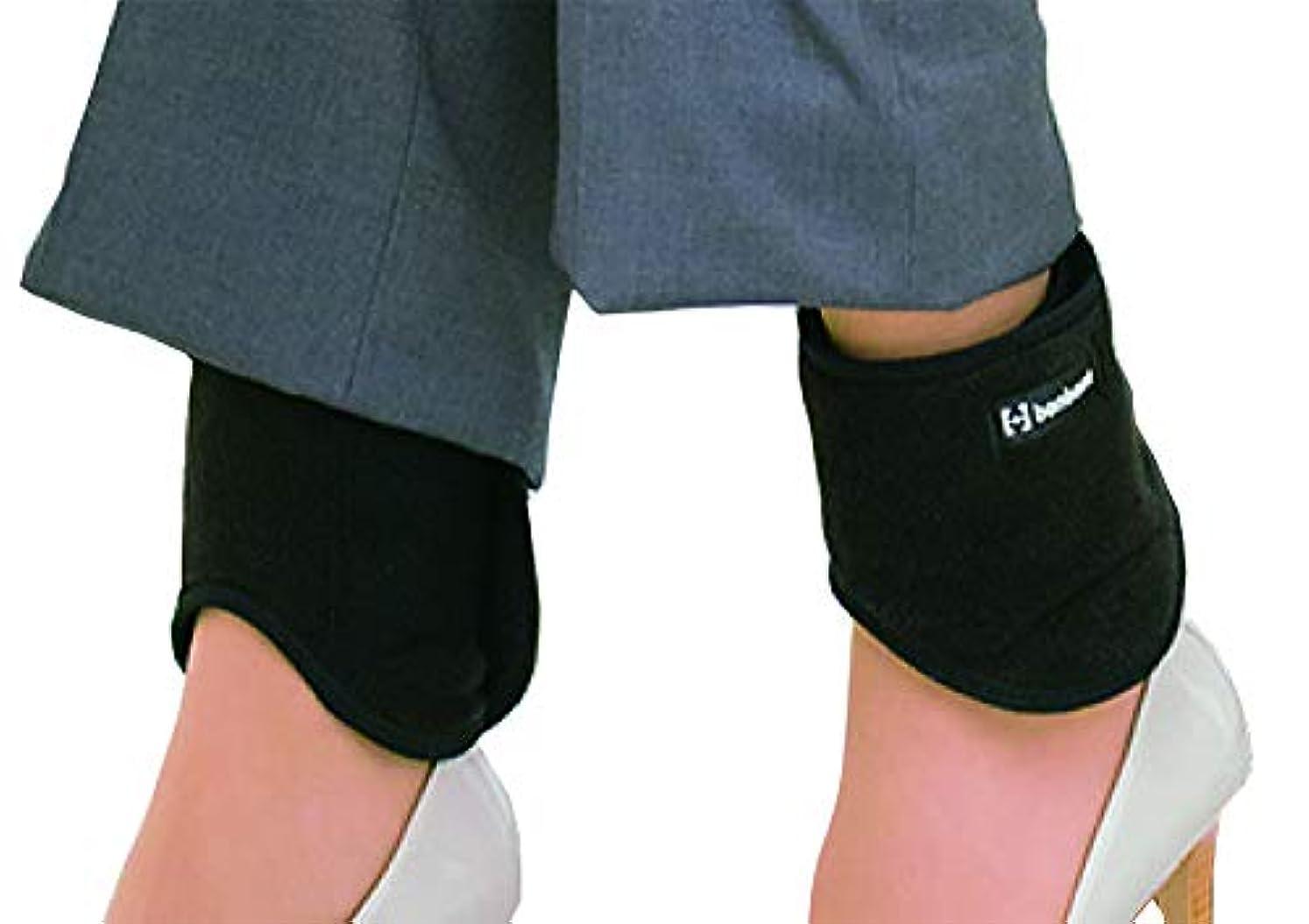 実際の治療乱用bonbone 発熱ウォーマー足くび用 ブラック