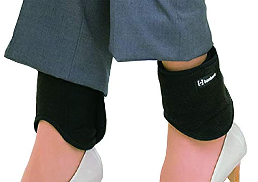 マーベル見込み清めるbonbone 発熱ウォーマー足くび用 ブラック