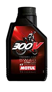 MOTUL(モチュール) 300V Factory Line Off Road 5W40 1L バイク用100%化学合成オイル [正規品]