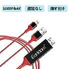 【タイムセール】 Lightning HDMI変換ケーブルが激安特価!