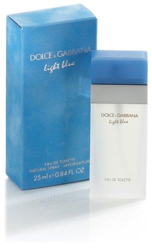 ドルチェアンドガッバーナ 香水ライトブルー オードトワレ フローラル フルーティ 25mL B000Q0VBOS 1枚目