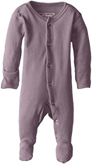 L'ovedbaby Unisex-Baby Organic Cotton Footed Ove