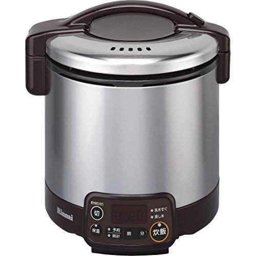 リンナイ こがまる タイマー・ジャー付きガス炊飯器 5合炊き・ダークブラウン・都市ガス13A用 RR-050VMT(DB) 13A