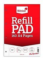 SILVINE REFILL PAD A4 80LF FM A4RP