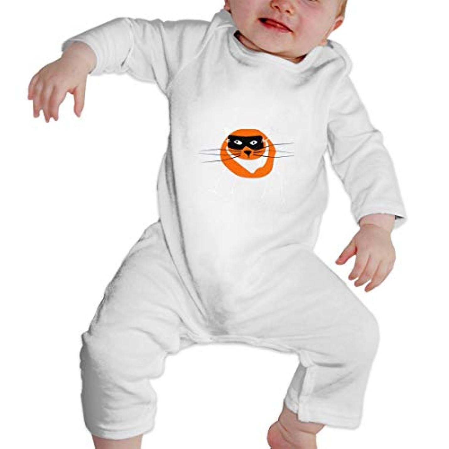 基本的な発火するグリースCatawakiハロウィン2の急襲 女の赤ちゃん女の赤ちゃん長袖ジャンプスーツコットンプリントラウンドネックソフト通気性ジャンプスーツ底入れ