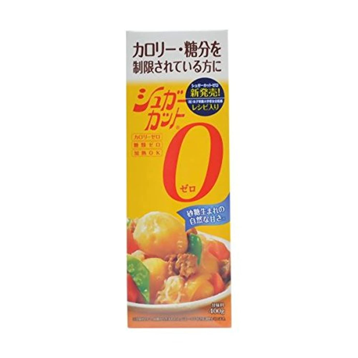 全体アジア人アセ浅田飴 シュガーカットゼロ 400g【2個セット】