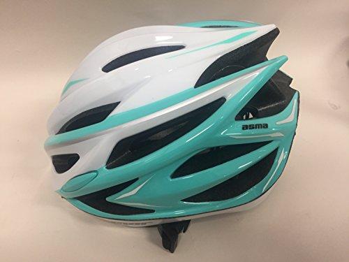 [해외]Karmar (카마) 헬멧 ASMA2 (아스마 2) 화이트 | 민트 그린 헬멧 S | M R2KA150843X 55-58cm/Karmar helmet ASMA 2 (Asma 2) white | mint green helmet S | M R2 KA 150843 X 55 - 58 cm