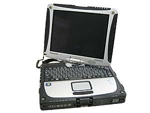 パナソニック(Panasonic) TOUGHBOOK CF-19 (Win7 Pro/i5-2520M2.50GHz/10.4 XGA/4GB/320GB/無線LAN/9時間駆動) CF-19AW1ADS