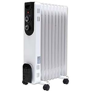 オイルヒーター 暖房器具 ヒーター 省エネ 9枚フィン 6畳~8畳対応 子供部屋
