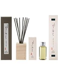 大香 竹彩香 りらく 沈香 50ml と 交換用 沈香、交換用竹スティック 沈香の色 セット
