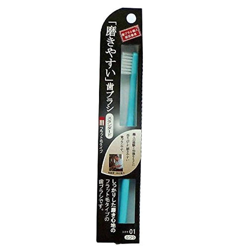 キャプション影のある一貫性のない磨きやすい歯ブラシフラット LT-01