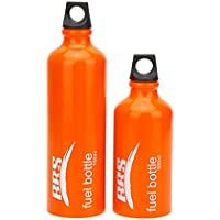 Lixada 燃料ボトル フューエルボトル ガス容器 ガスボンベ 530ml/750ml アウトドア/キャンプに