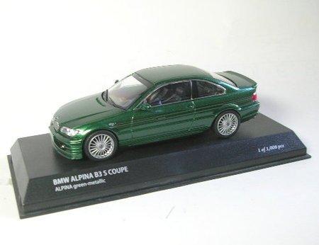 京商 1/43 BMW アルピナ B3S クーペ アルピナグリーン K03431GR