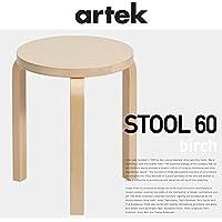 【正規取扱店】アルテック/artek Stool60/スツール60 バーチ 3本足