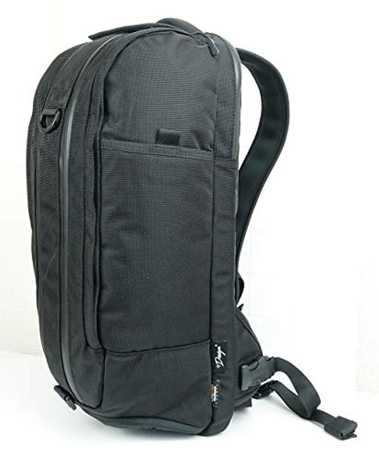 パワー黒くする遠近法+Design「Balanceダッフルパック L (23L)」防滴仕様高機能バックパック 素材には防弾ベスト用強靱素材「Cordura Ballistic 1680D」、YKK止水ファスナー、YKKプラスチック部品を採用