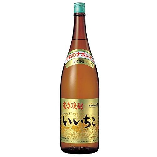 三和酒類 いいちこ 麦 25度 瓶 1800ml  [大分県]