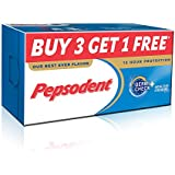Pepsodent Germicheck Plus Cavity Protection Toothpaste - 150 g (Pack of 4)