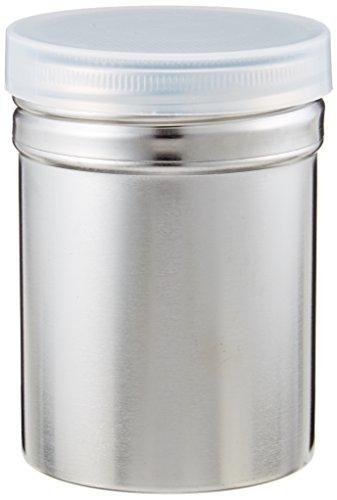 遠藤商事 SA18-8パウダー缶 (アクリル蓋付) 小