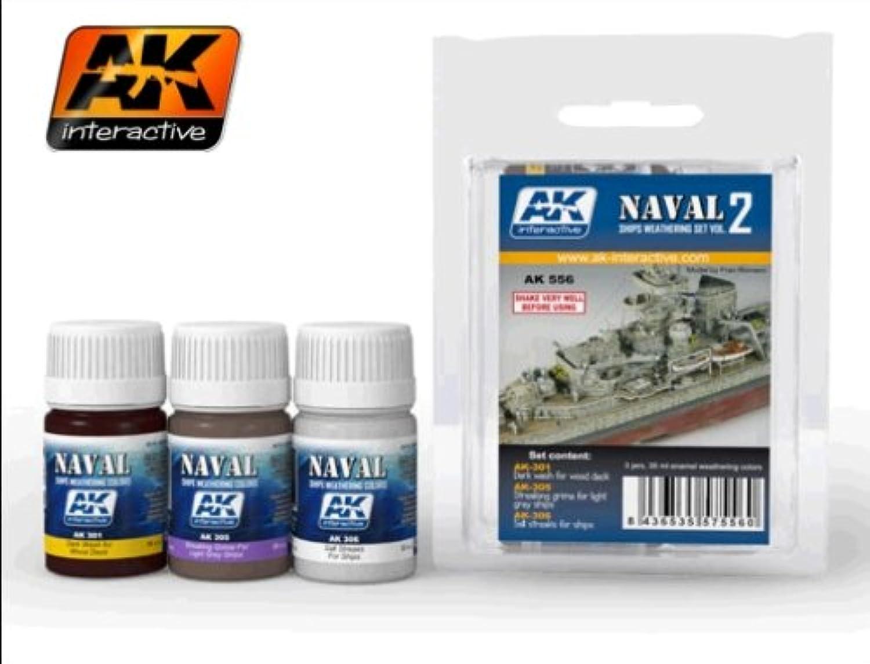 AK Interactive Ships Weathering Set Vol。2 ak556
