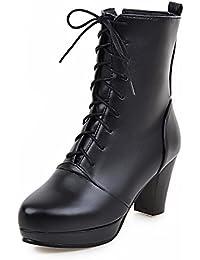 (フェレシテ)fereshte 編み上げ ブーツ 袴ブーツ 卒業式用 幅広いサイズ21.5cm~26.5cm