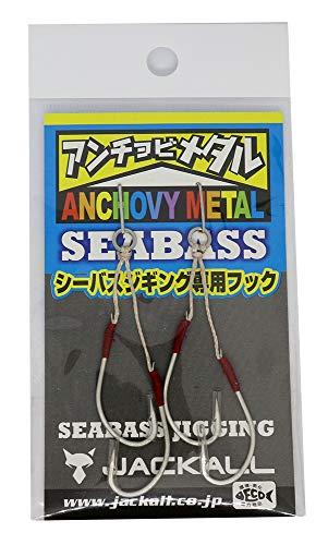 JACKALL(ジャッカル) メタルジグ SEABASSアンチョビフック 2SET 入り.