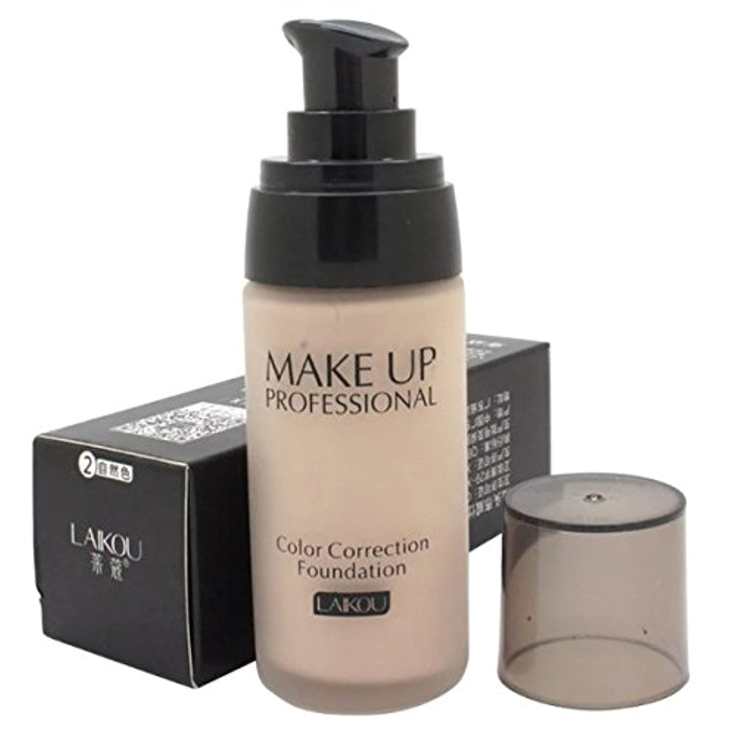 追加する囲い政治的40 ml Whitening Liquid Foundation Concealer Moisturizer Oil-control Waterproof Makeup NO.2