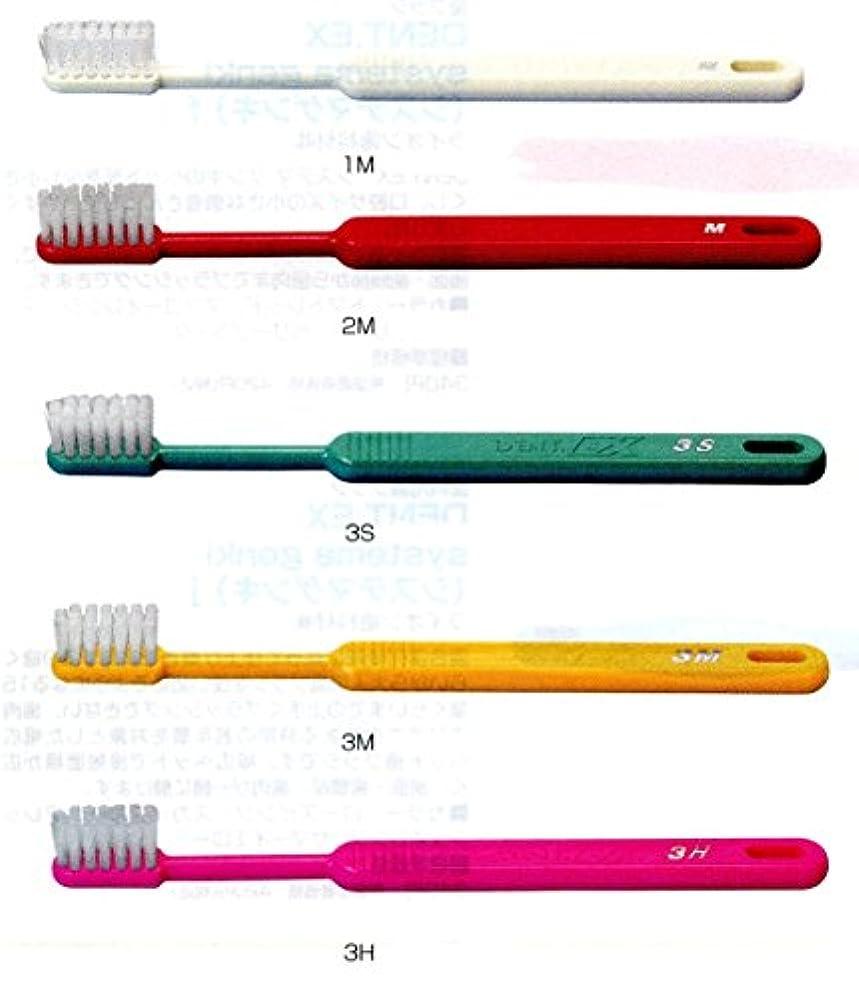 ヘビー論争的認証ライオン DENT .EX 3 レギュラー 歯ブラシ 1本 H グリーン