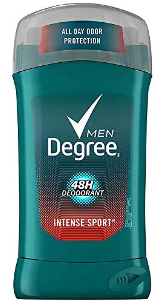 きらめく好意平和ディグリー Degree インテンススポーツ メンズ デオドラント 男性用 制汗剤 ボディケア 汗 ニオイ 48時間 防止 85g