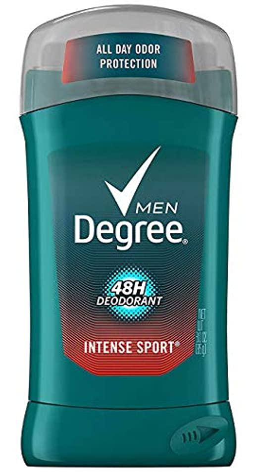アシスタント冷酷な発行するディグリー Degree インテンススポーツ メンズ デオドラント 男性用 制汗剤 ボディケア 汗 ニオイ 48時間 防止 85g