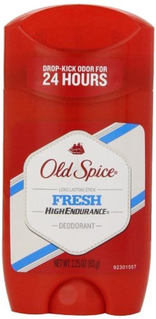 ビジター無意識誰のオールドスパイス Old Spice ハイエンデュランス フレッシュ デオドラント スティック 男性用 63g[平行輸入品]