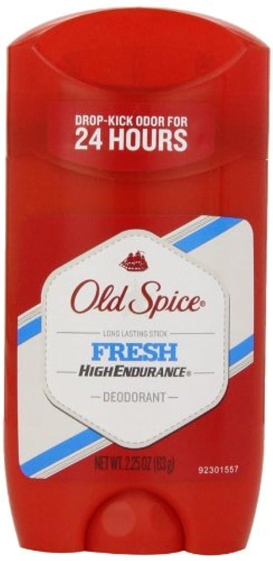 代名詞承知しました傑作オールドスパイス Old Spice ハイエンデュランス フレッシュ デオドラント スティック 男性用 63g[平行輸入品]