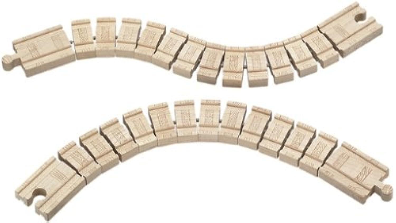 ラーニングカーブ きかんしゃトーマス 木製レール くねくね線路 LC99918 並行輸入品